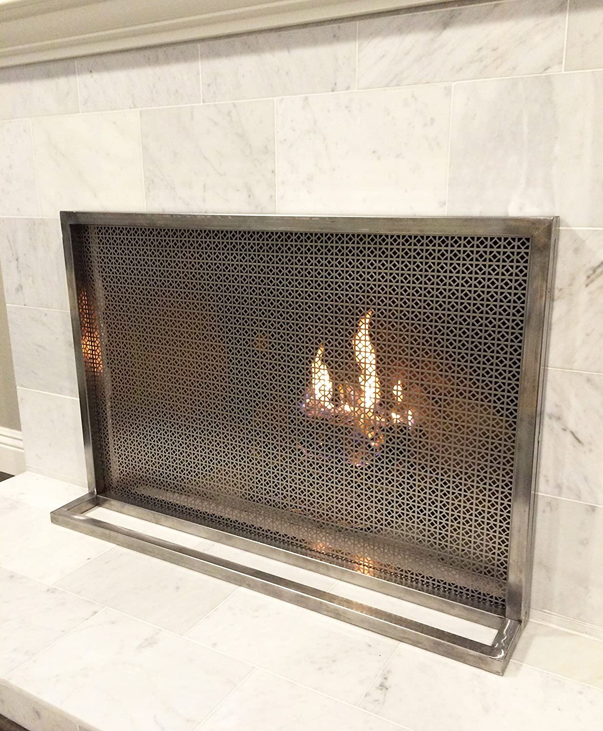 Modern Fireplace Screens New Amazon Ima Fireplace Screen Handmade