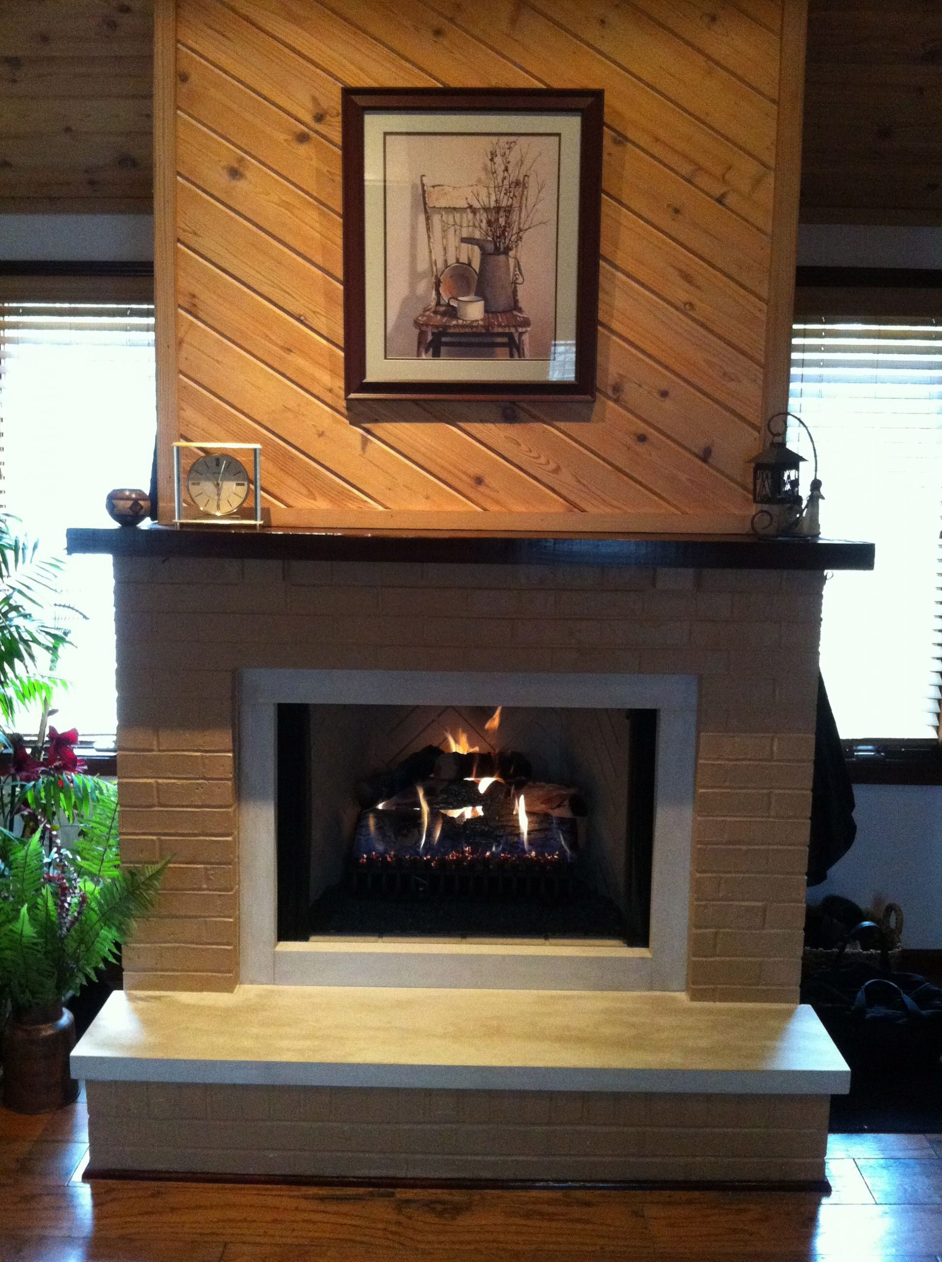 Rasmussen Fireplace Beautiful Rasmussen Gas Logs Rebuilt Firebox W Limestone Raised Hearth