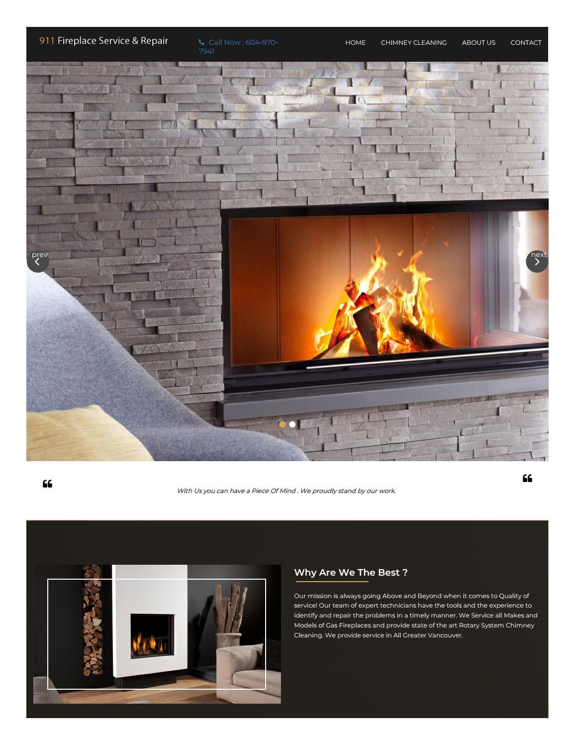 gas fireplace repair and service