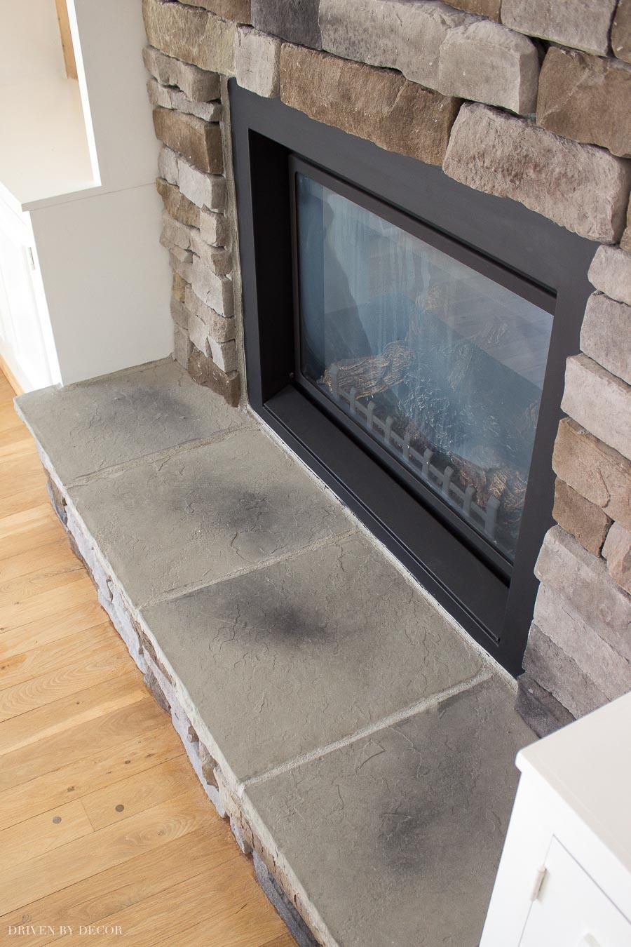 hearthstones fireplace stone veneer