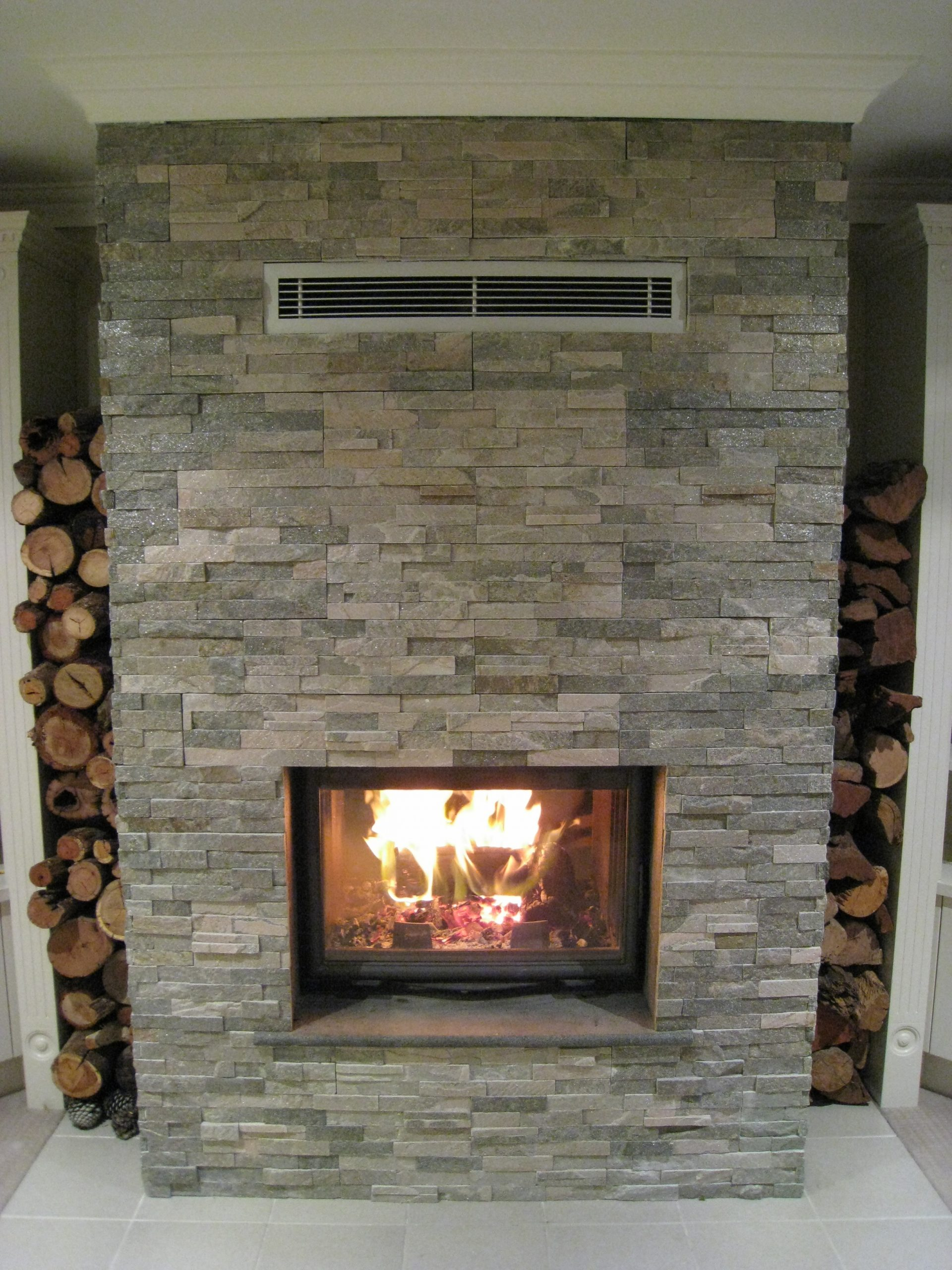 cheminee chazelle cdf800r radiant wood fireplace