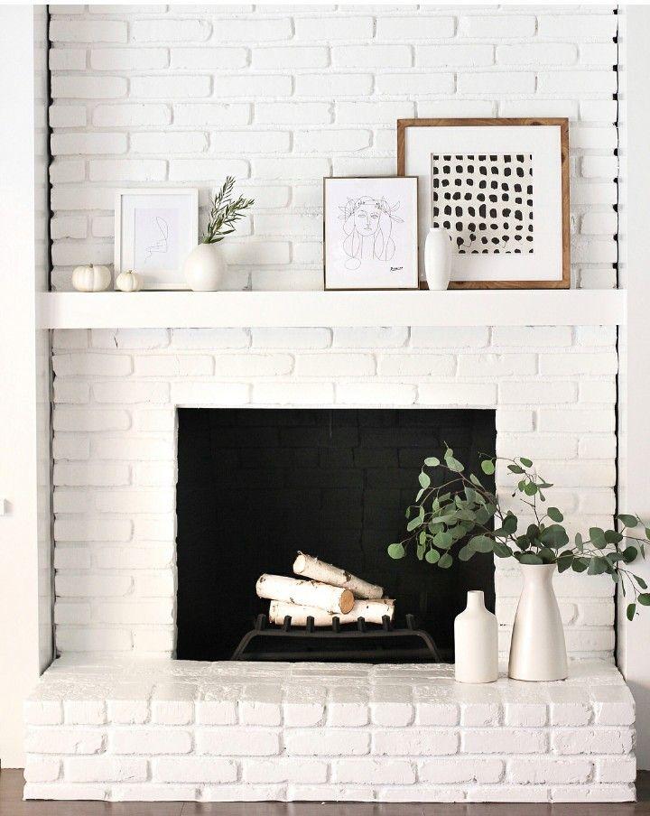 Vonderhaar Fireplace Luxury White On White Fireplace