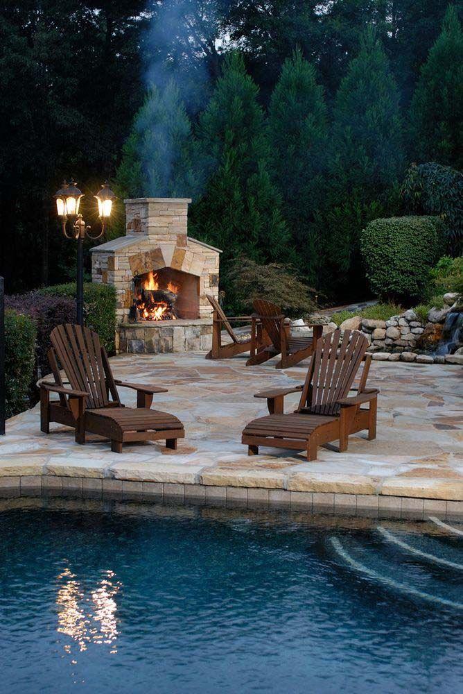 Vonderhaar Fireplace Unique Outdoor Fireplace Design Ideas