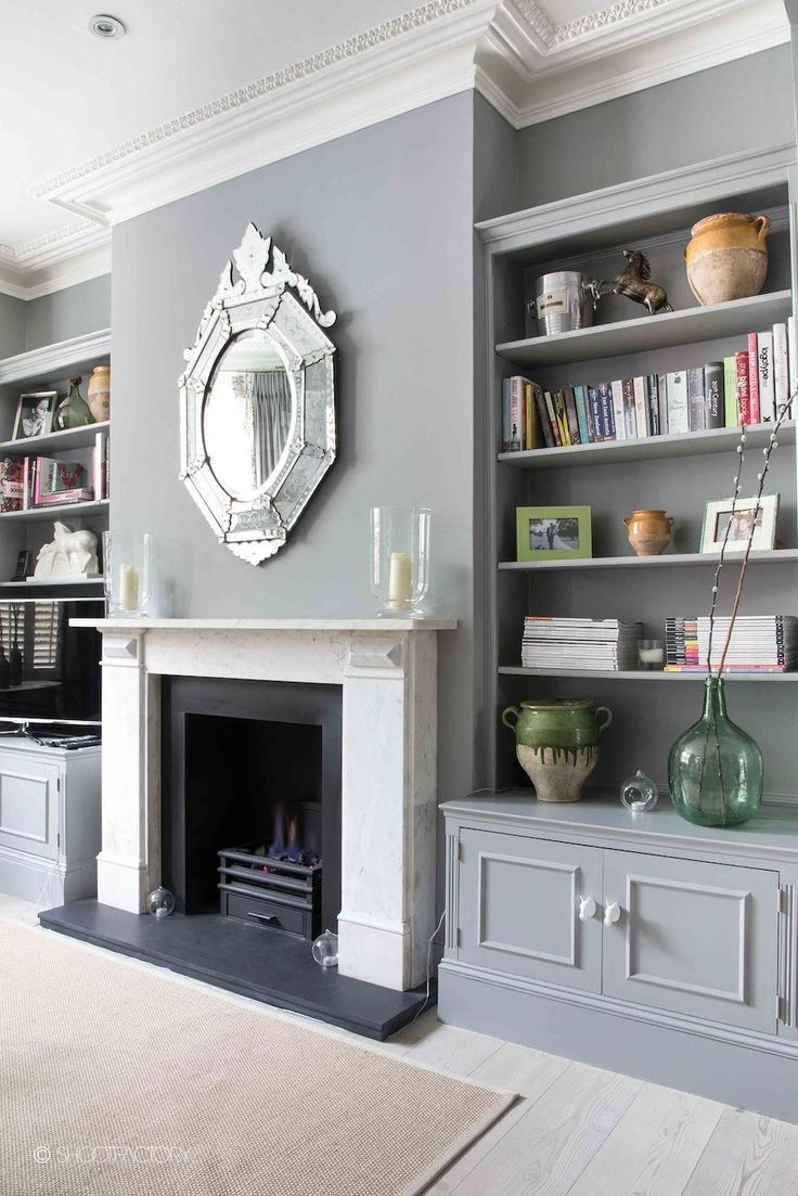 shelving either side of fireplace 7 ideas to started