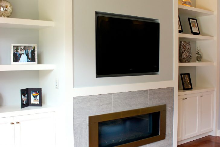 Wall Units with Fireplace Lovely White Living Room Wall Unit with Built In Television and Gas