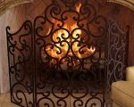 21 Fresh Wrought Iron Fireplace Screens