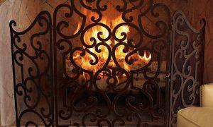 21 Fresh Wrought Iron Fireplace Screens