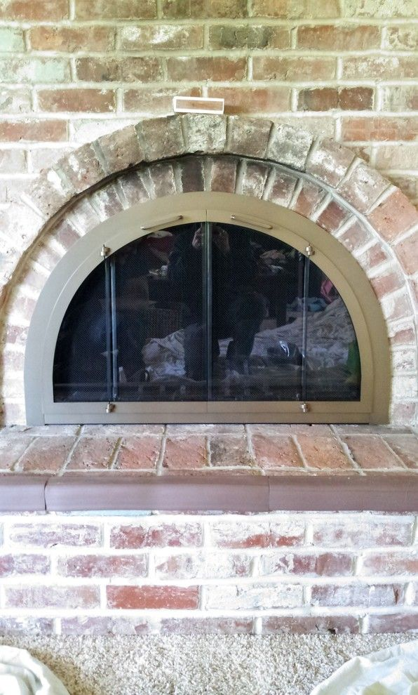 fireside portland for a contemporary living room with a stoll fireplace door and glass fireplace doors gas logs or fire features by fireside home solutions 1