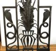 Art Deco Fireplace Screen Awesome Edgar Brandt attributed Art Deco Bronze Fireplace Screen