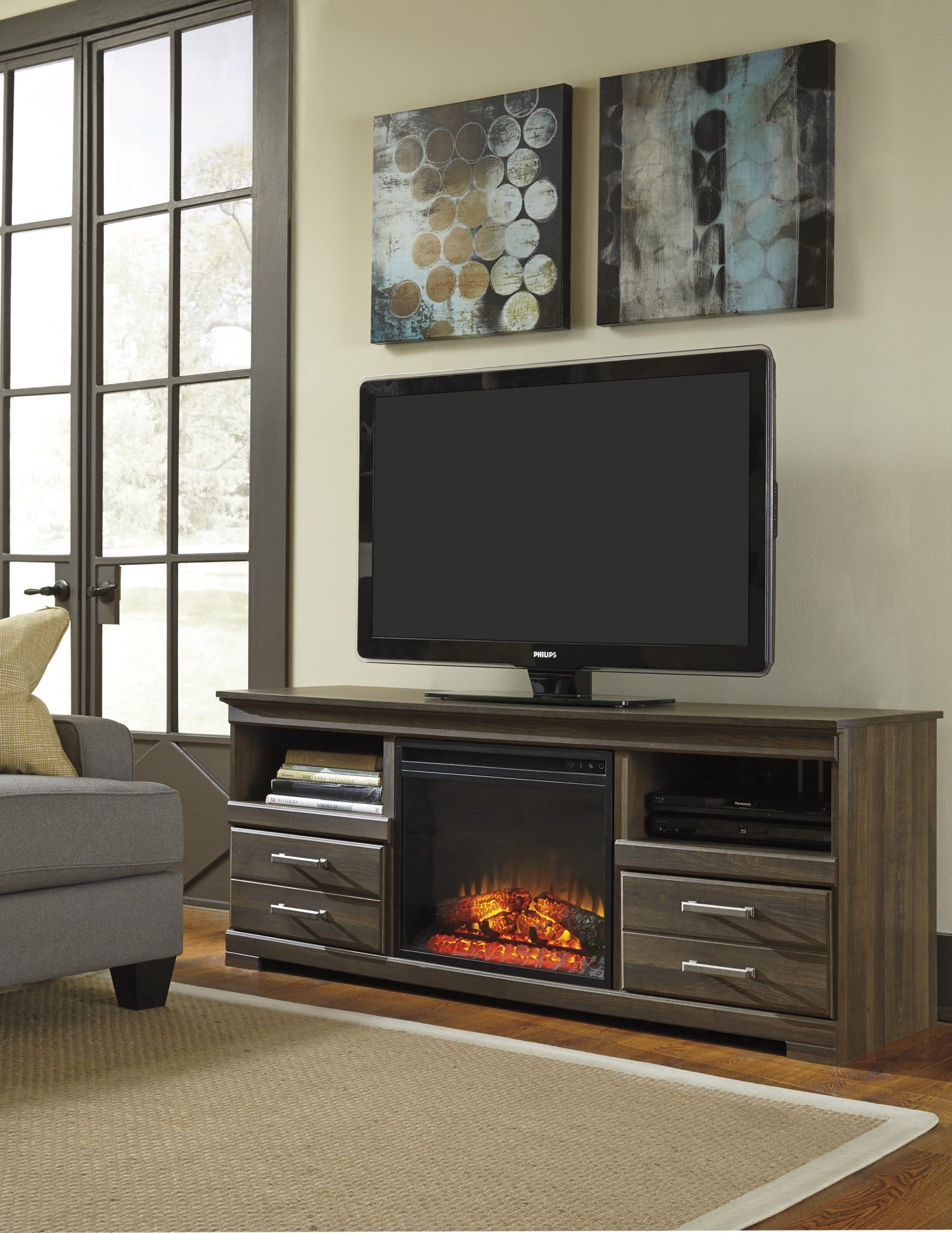 elegant ashley fire place astonishing idea real flame electric fireplace