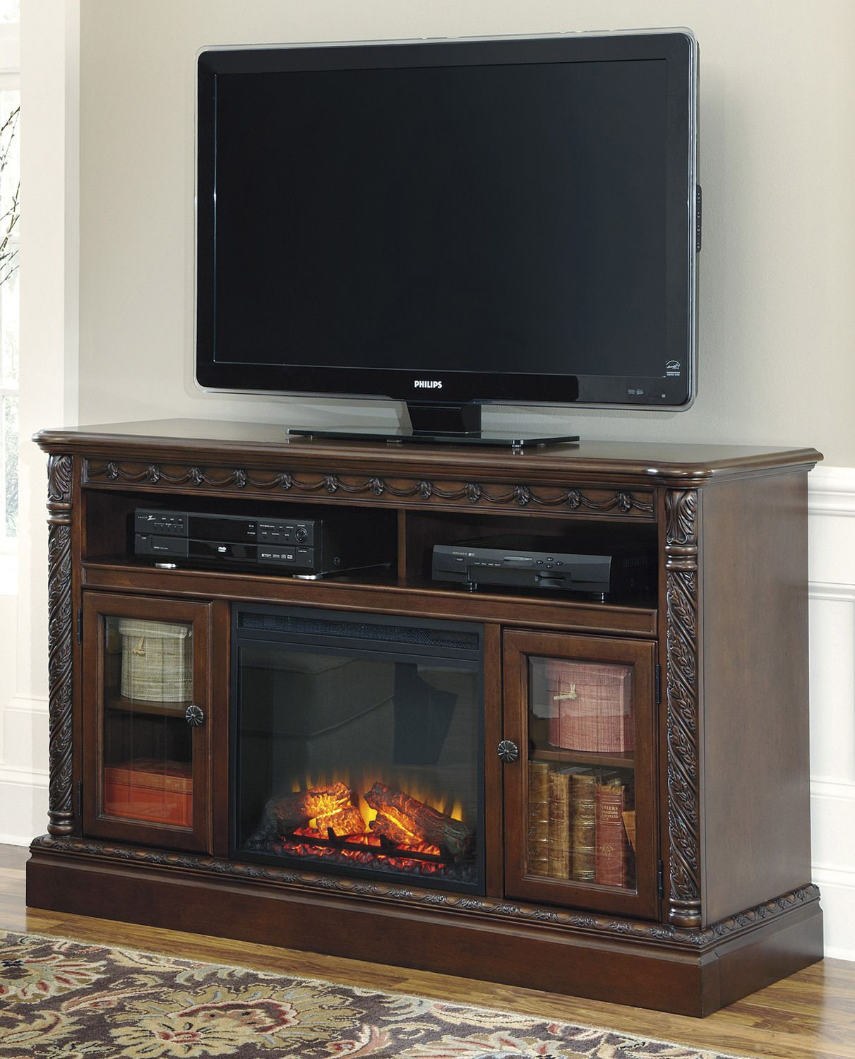 Ashley Fireplace Tv Stand Luxury north Shore Tv Stand with Fireplace by ashley Home