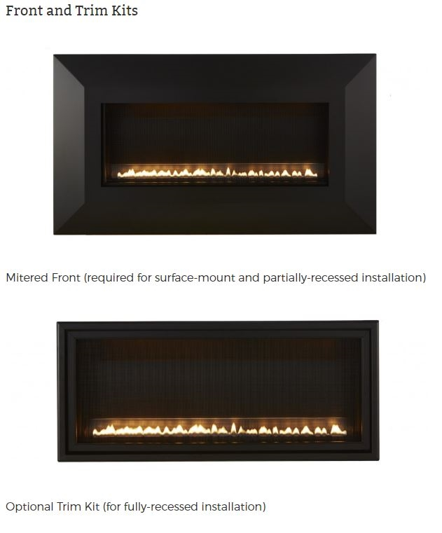 """Boulevard Fireplace Fresh White Mountain Hearth by Empire Vent Free Slim Line Gas Fireplace Boulevard 30"""""""