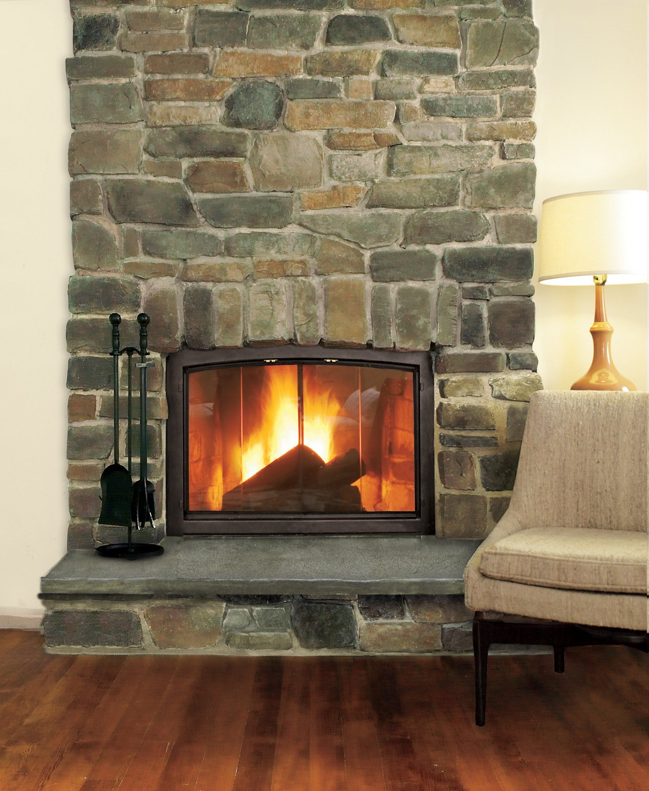 Charm Glow Electric Fireplace Beautiful How to Build A Stone Veneer Fireplace Surround