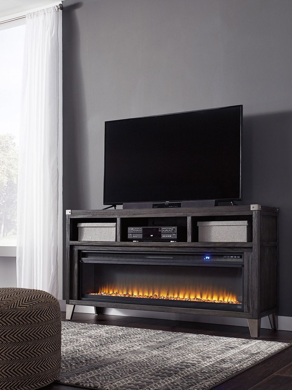 Cherry Fireplace Tv Stand Best Of todoe Tv Stand with Fireplace Insert
