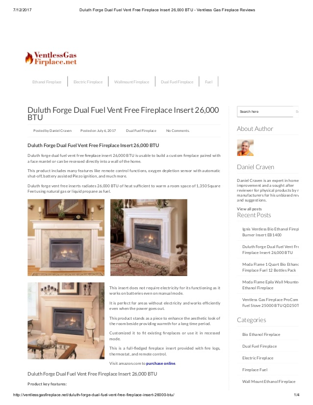 Dual Fuel Fireplace Best Of Duluth forge Dual Fuel Vent Free Fireplace Insert 26 000 Btu