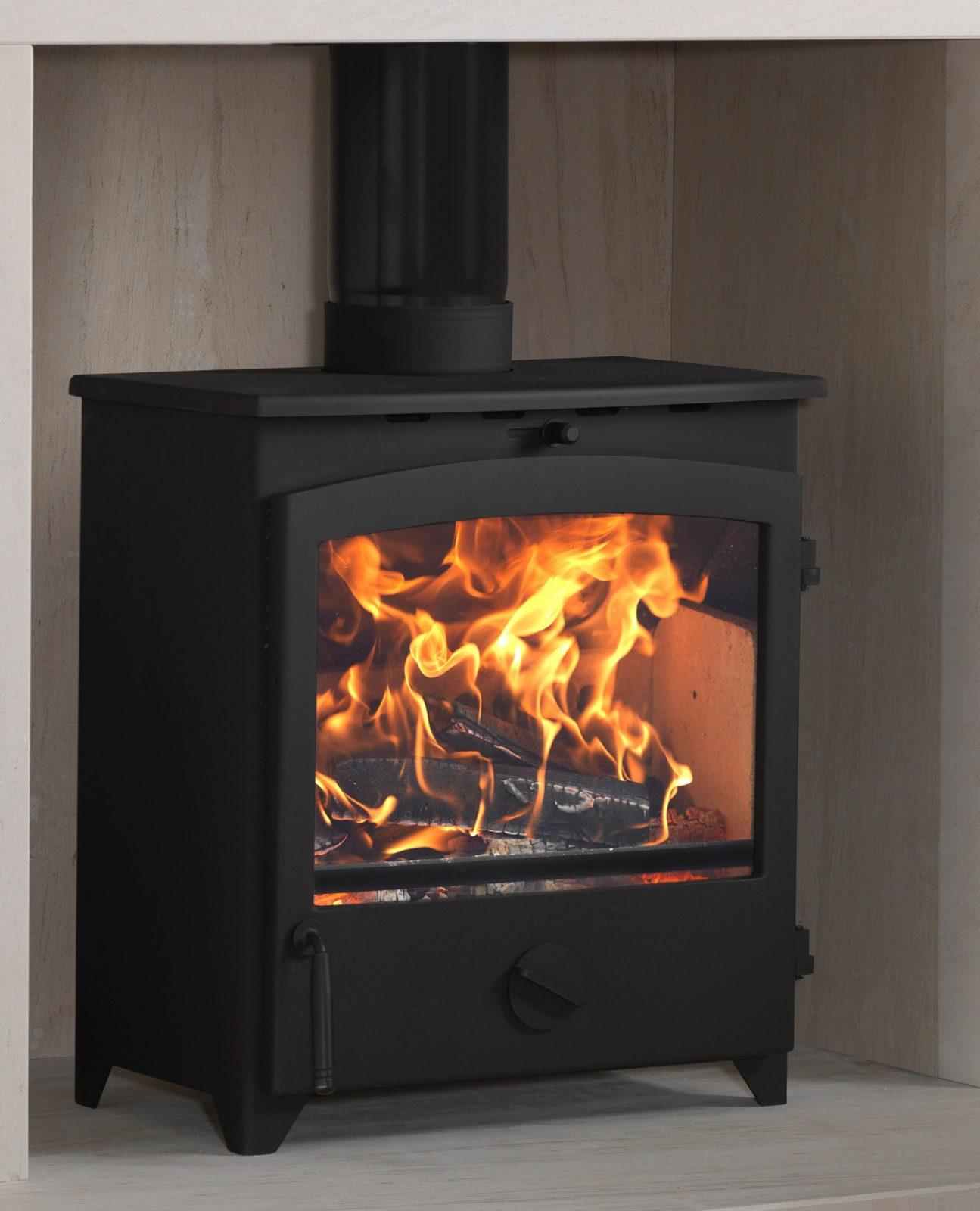 go eco 5kw wide multi fuel stove