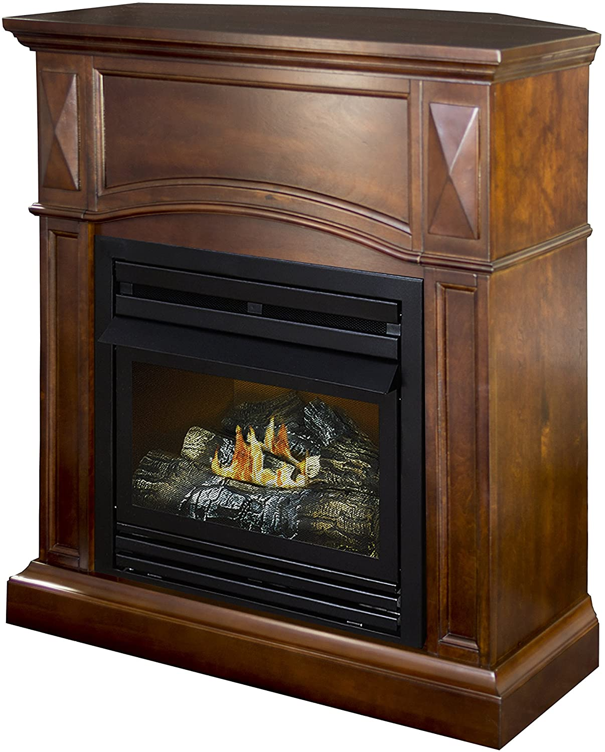 Dual Fuel Fireplace Luxury Amazon Pleasant Hearth Convertible Vent Free Dual Fuel
