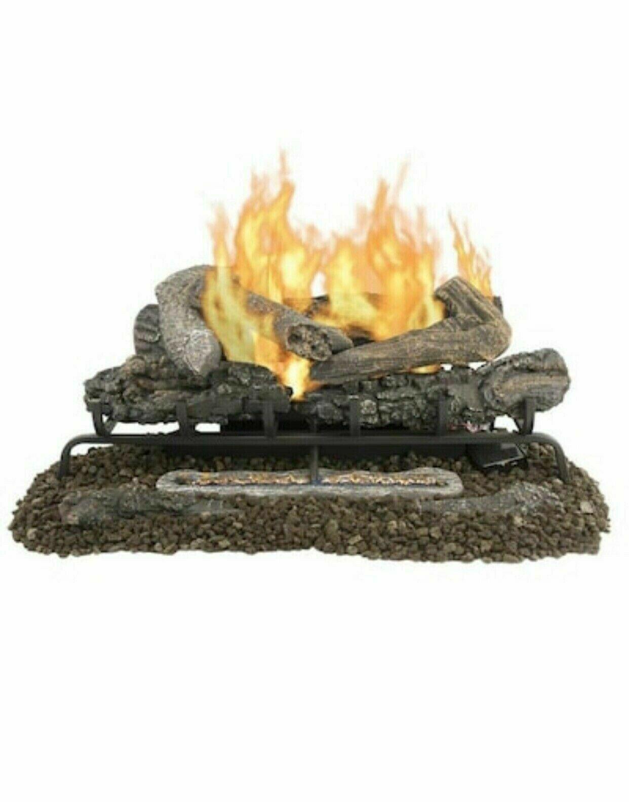 Dual Fuel Fireplace Luxury Pleasant Hearth 18 In Btu Dual Burner Vent Free Gas Fireplace Logs
