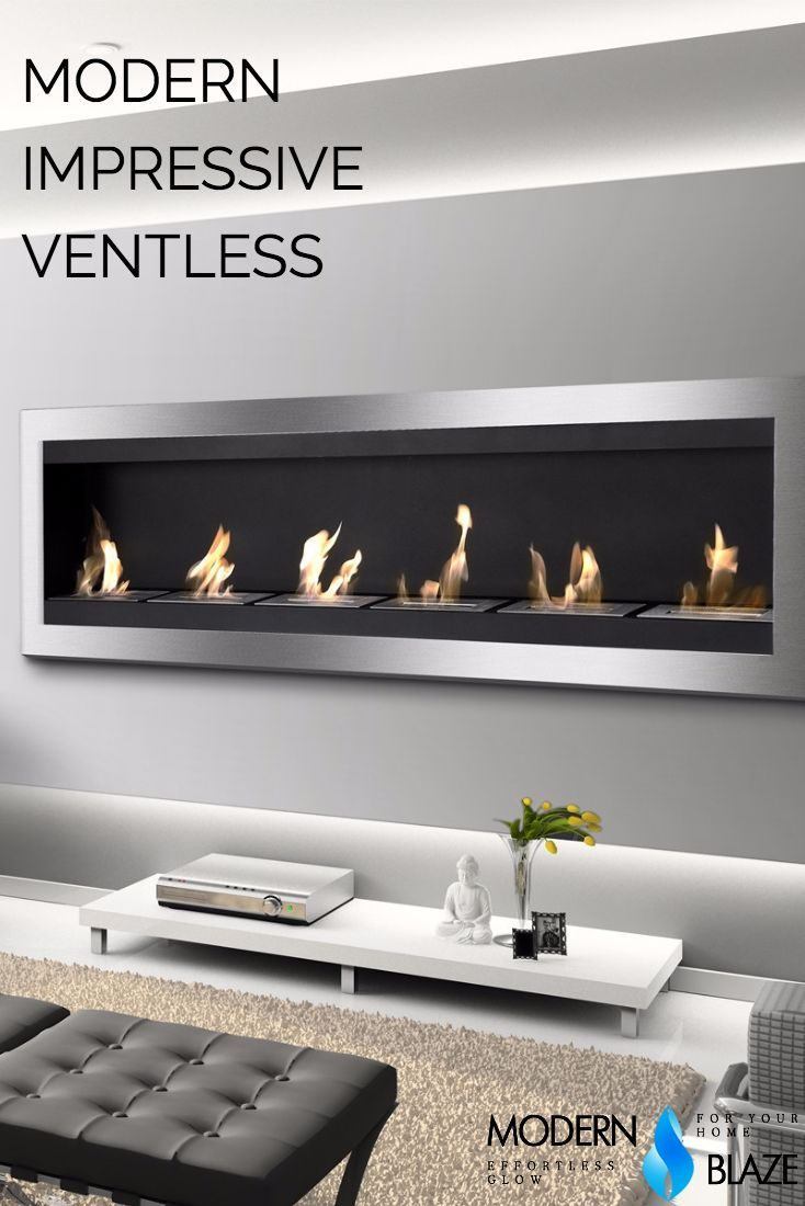 """Ethanol Wall Mounted Fireplace Best Of Ignis Maximum 83"""" Wall Mounted Ethanol Fireplace Wmf 012g"""