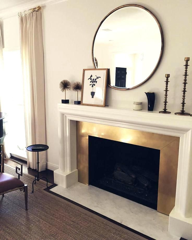 Fireplace Mirror Elegant Ideas for Over the Fireplace Mirrors Over Fireplaces Best