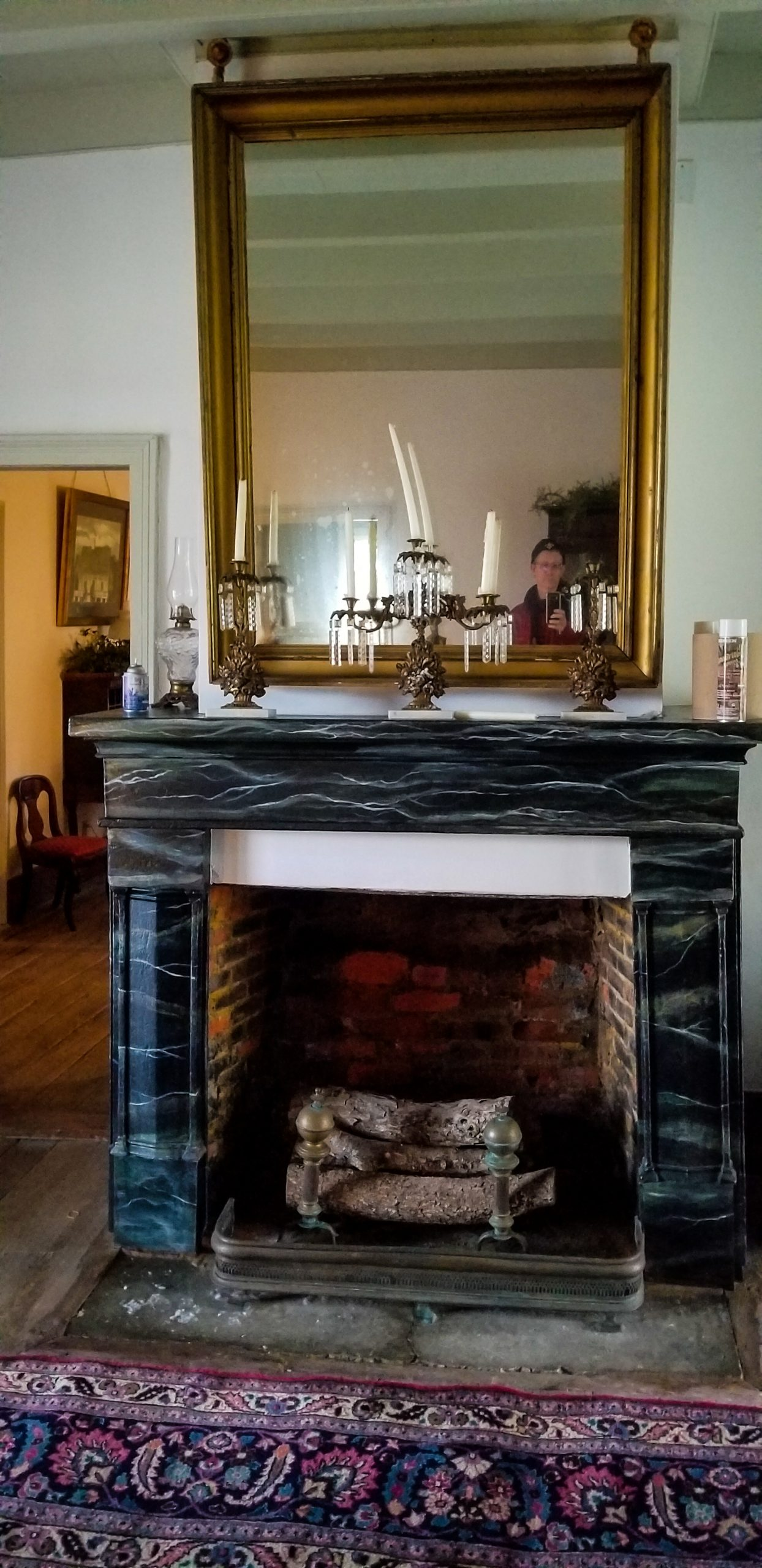 File Mirror and Fireplace Mansura Louisiana