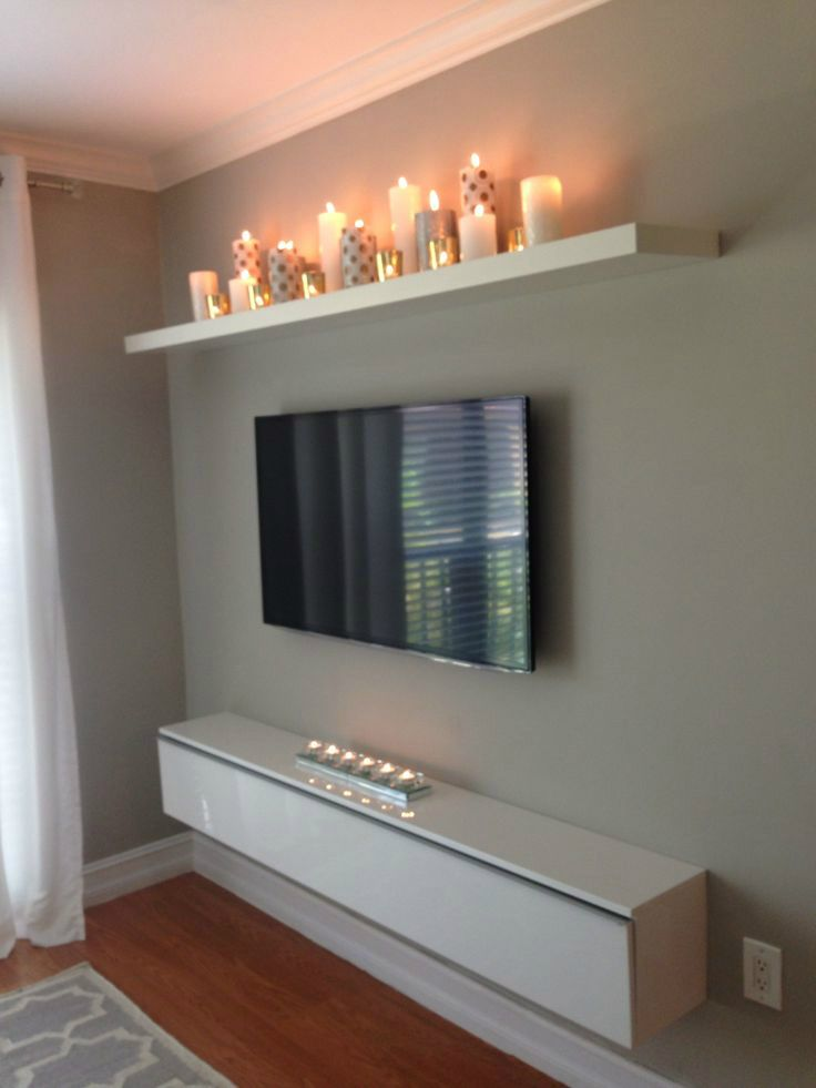 amazing tv hanging idea wall mounted cabinet unit design good elegant