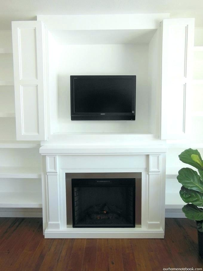 fireplace nook tv mount mounting in niche above fireplace built in fireplace nook with doors our home notebook terrific mounting in niche above fireplace fireplace nook tv mount diy