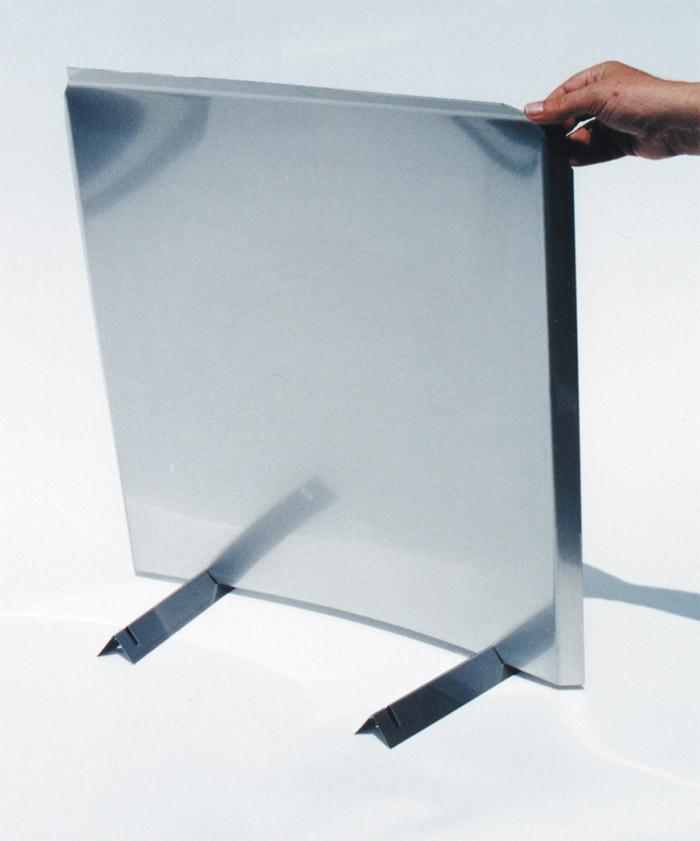 the heat reflector shield fireback 304 stainless steel