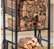 Fireplace Tray Awesome Amazon Firewood Storage Rack with 4 Piece Fire Tending