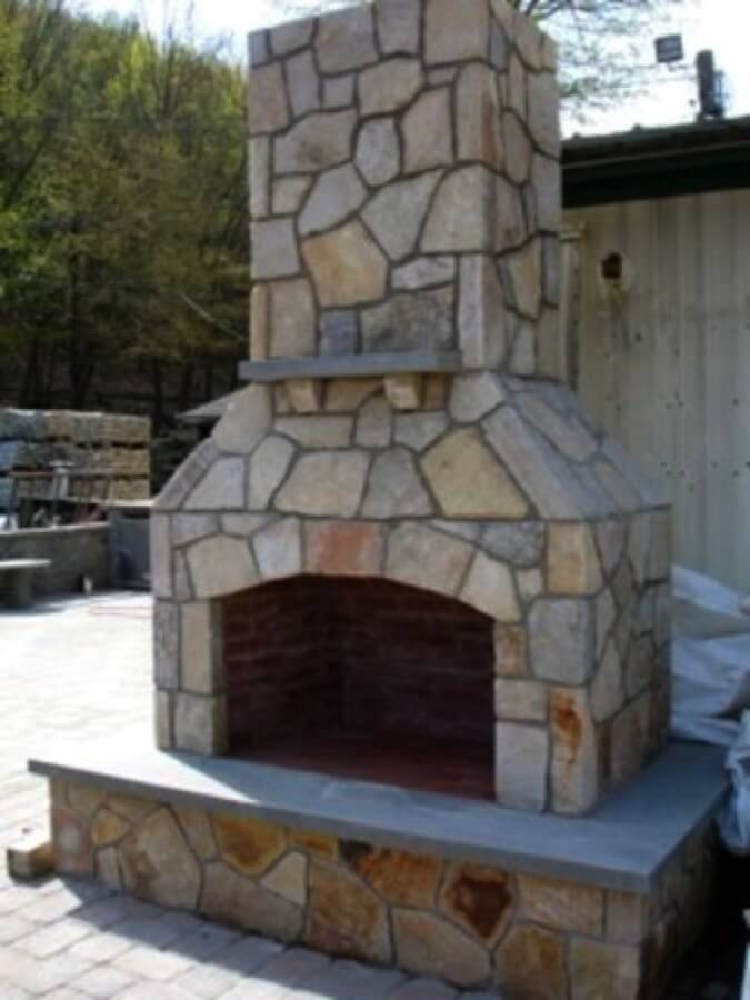 Gas Fireplace Kits Unique Outdoor Fireplace Kit Masonry Outdoor Fireplace Stone