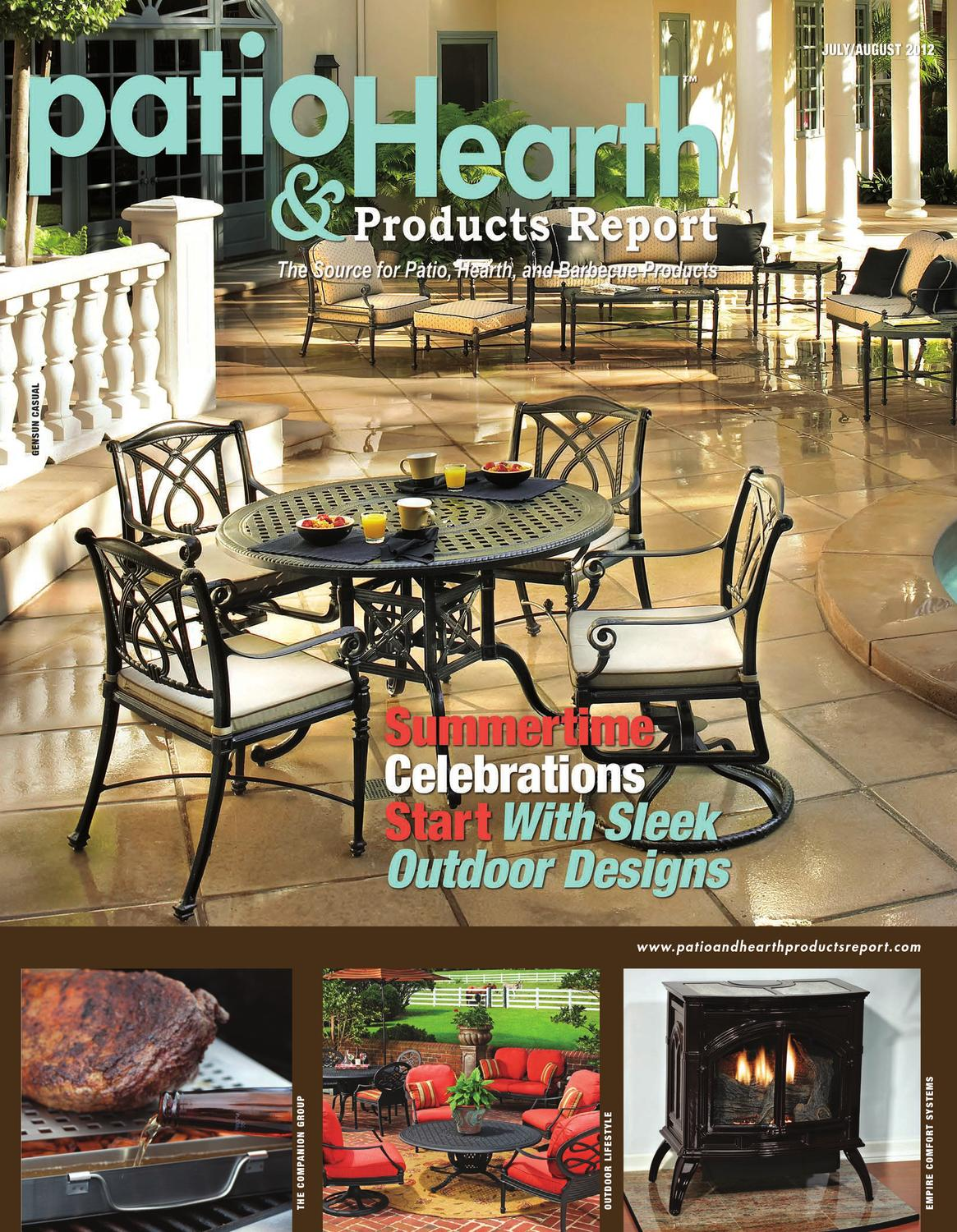 Georgetown Fireplace and Patios Inspirational Patio and Hearth Products Report July August 2012 by