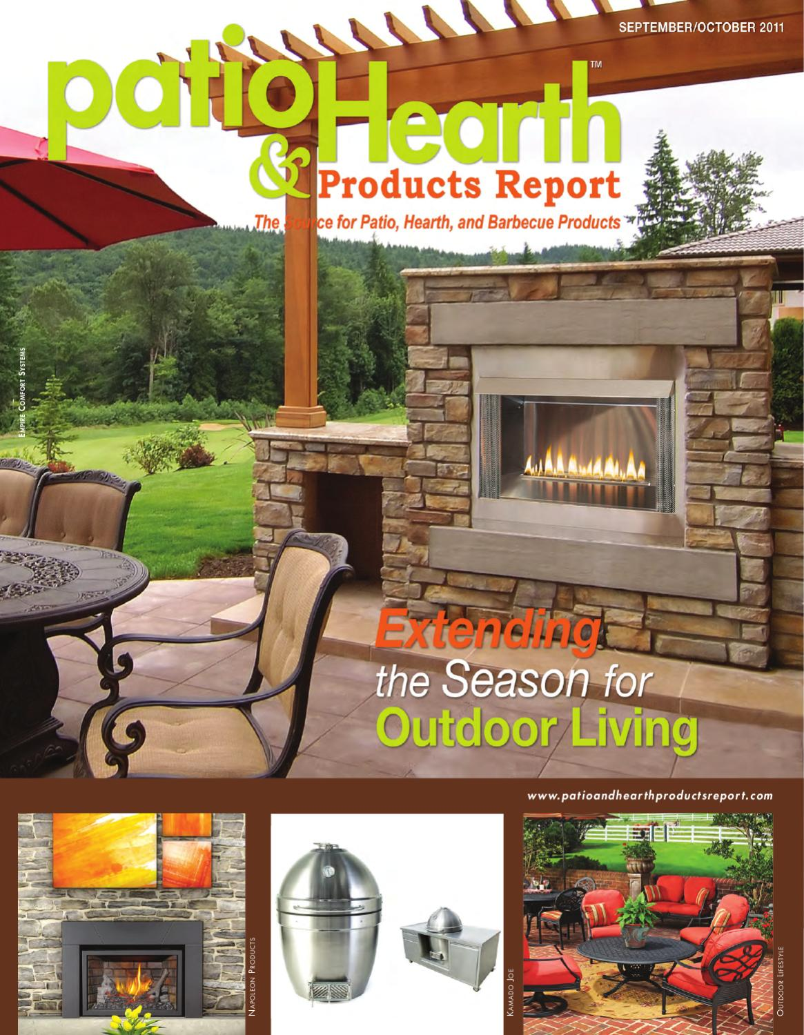 Georgetown Fireplace and Patios Lovely Patio and Hearth Products Report Sept Oct 2011 by