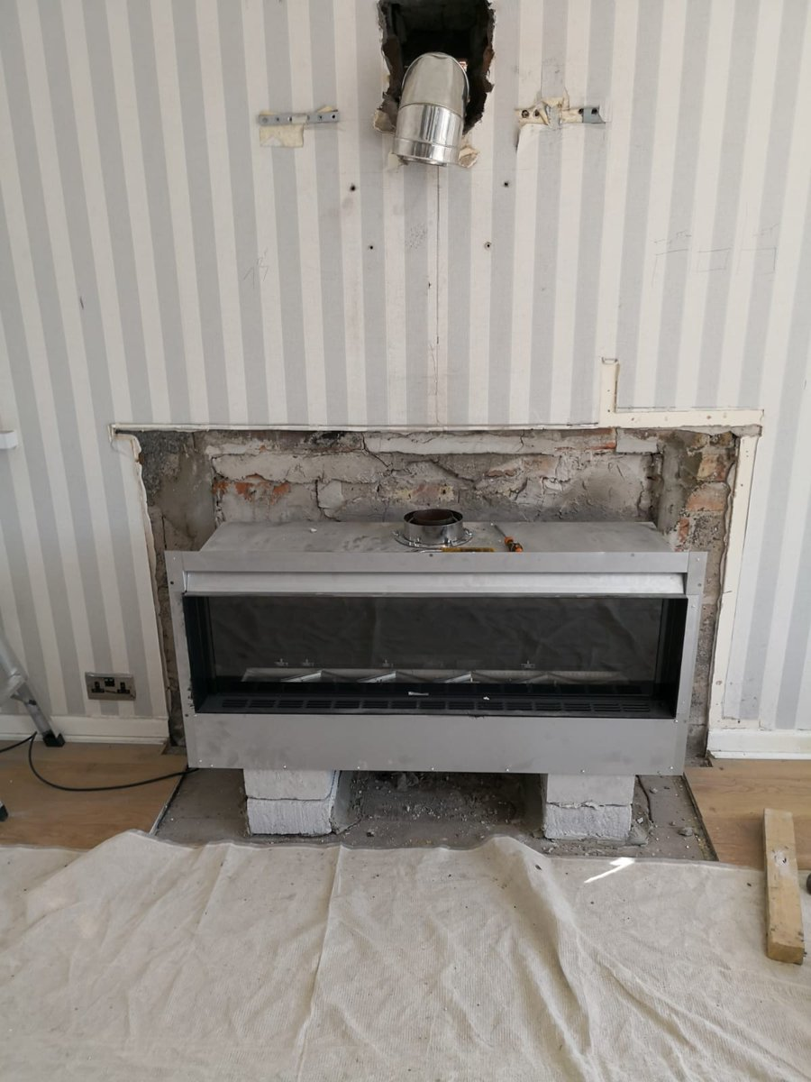 """In Wall Gas Fireplace Lovely Fireplace Warehouse Op Twitter """"check Out the Hole In Wall"""