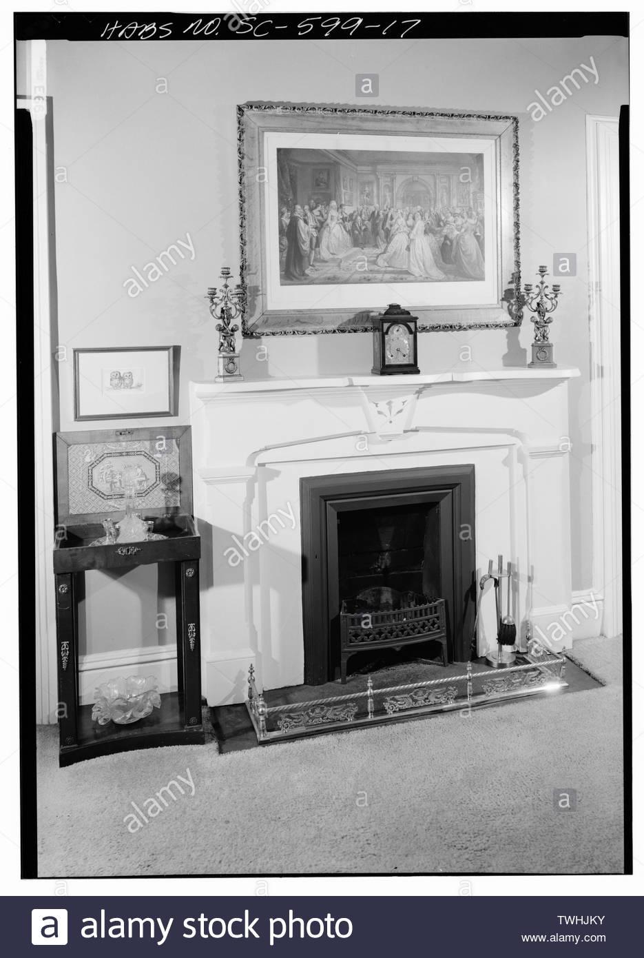 second floor northwest room east wall fireplace mantel lanneau norwood house 417 belmont avenue greenville greenville sc lanneau ch norwood john w image