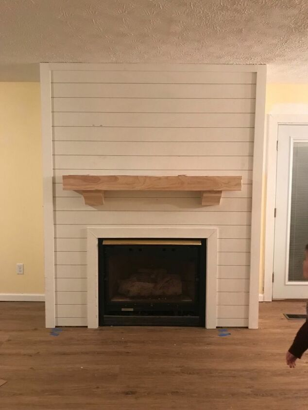 Wood Fireplace Inserts Lowes Elegant How to Shiplap Fireplace Diy