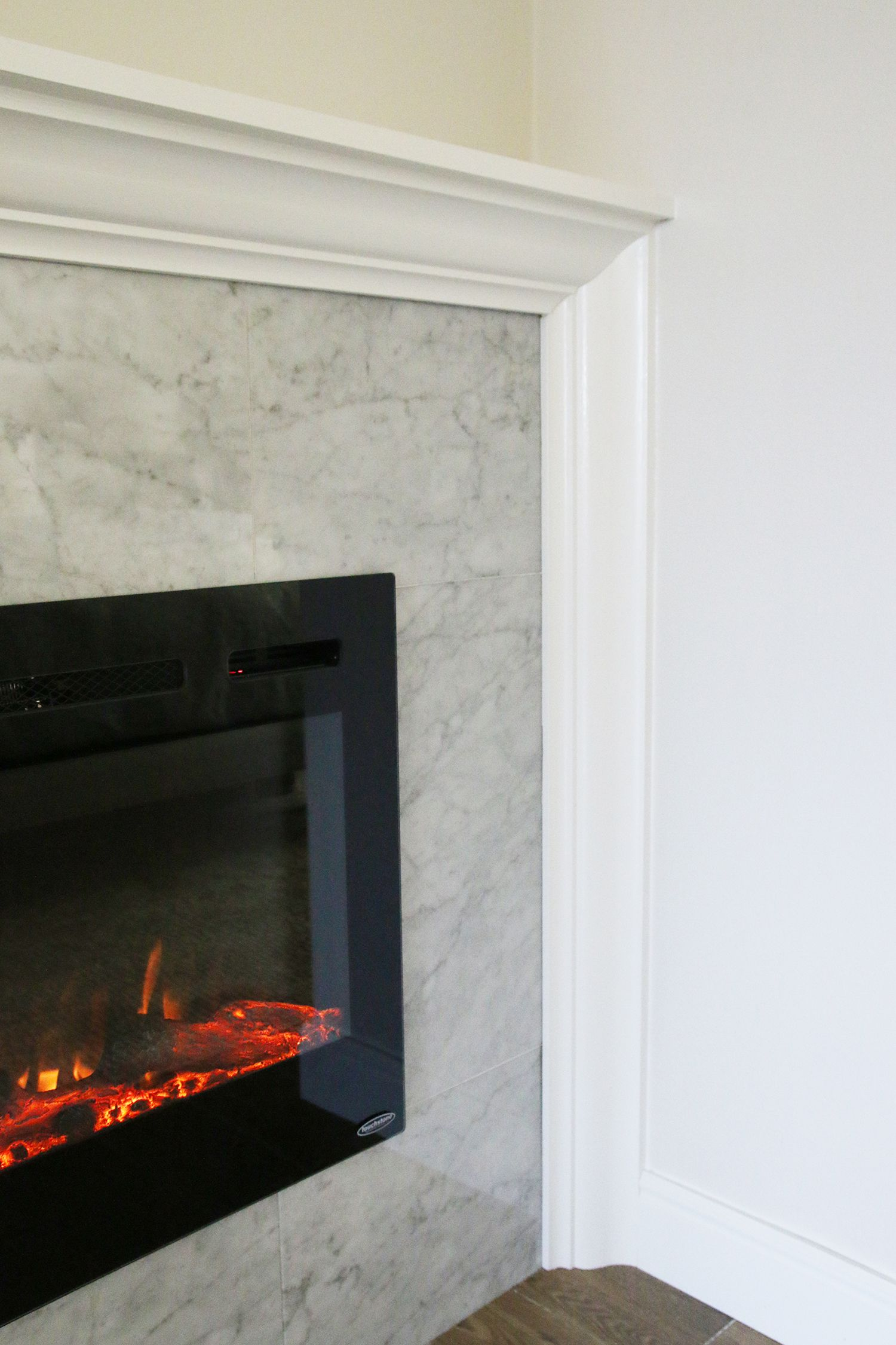 Wood Fireplace Inserts Lowes Inspirational How to Diy A Built In Electric Fireplace