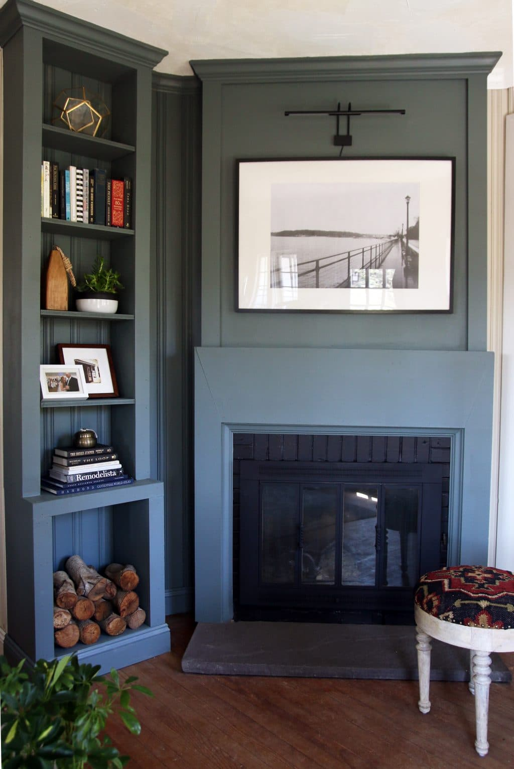 Wood Fireplace Inserts Lowes Luxury Lowe S Spring Makeover afters A Modern Lake House Entry