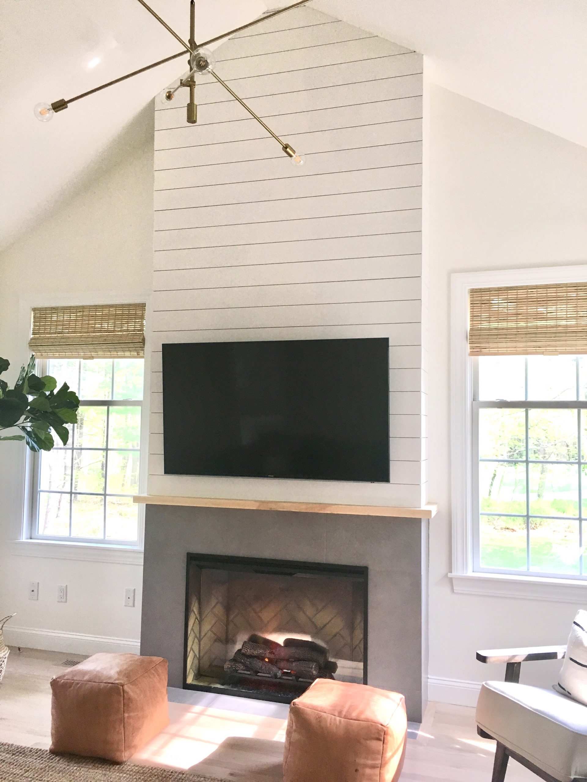 Wood Fireplace Inserts Lowes New Family Room Remodel Shiplap Fireplace Style Hideaway