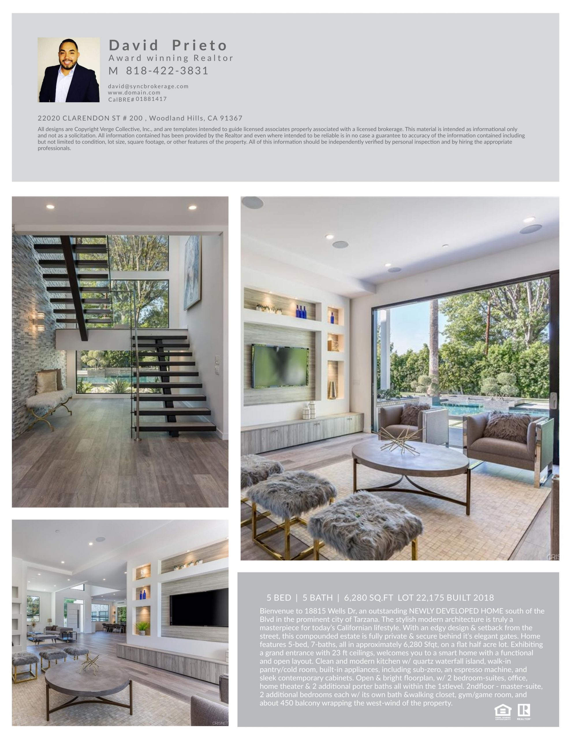 open house friday 9 28 18 from 2 6pm at wells dr in tarzana ca by david prieto at syn brokerage woodland hills