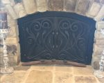 24 Fresh Wrought Iron Fireplace Door
