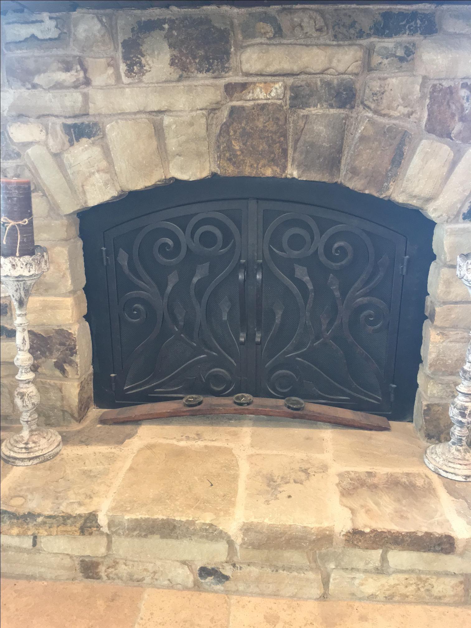 Wrought Iron Fireplace Door Elegant Custom Wrought Iron Fireplace Doors by Fireplace Door Guy