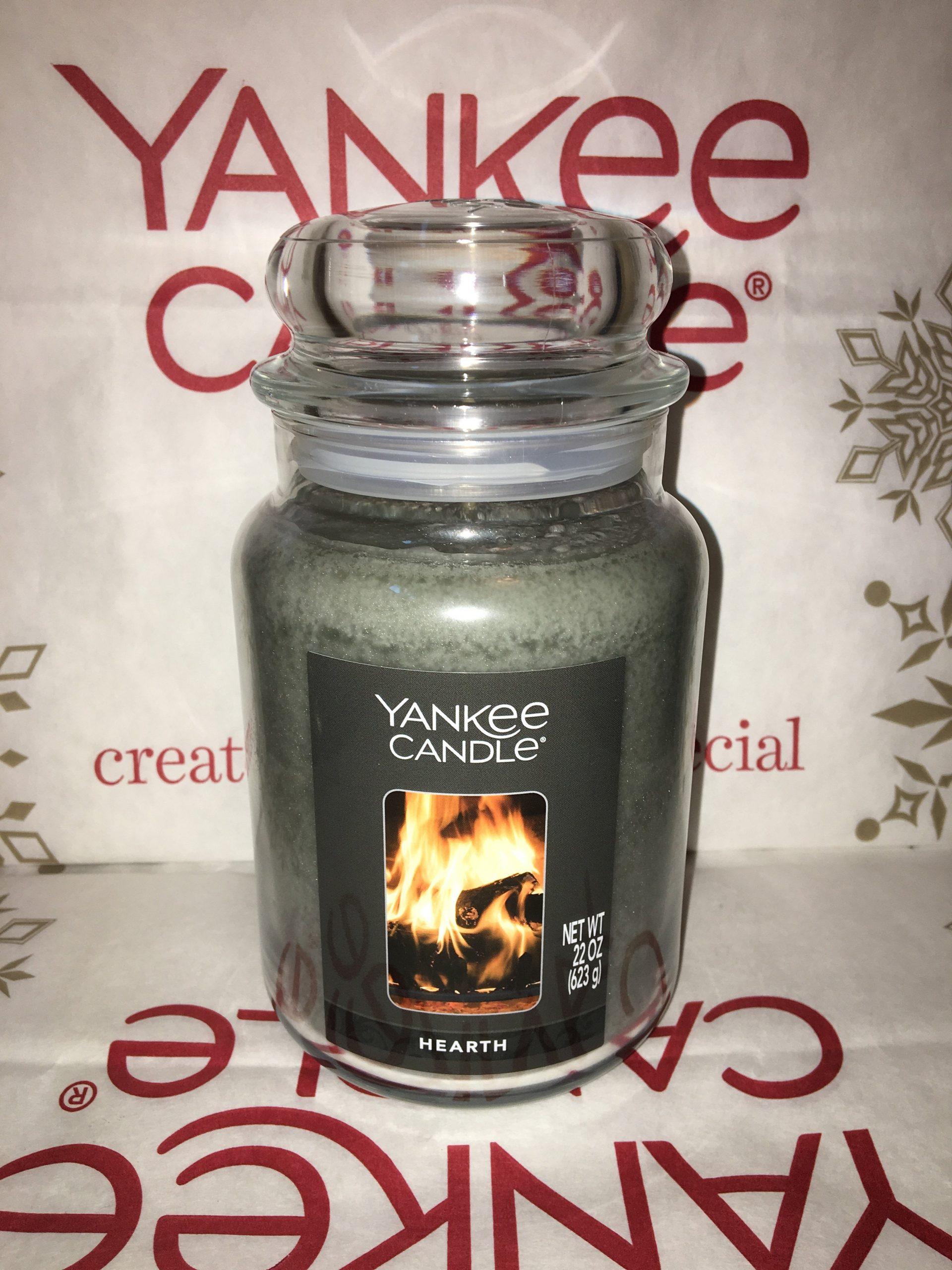 hearth yankee candle 22oz 623g large jar