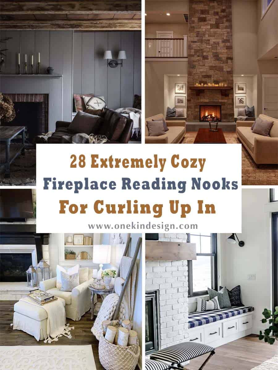 Fireplace Benches Awesome 28 Extremely Cozy Fireplace Reading Nooks for Curling Up In