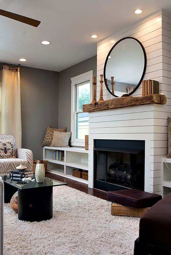 Cozy Fireplace Reading Nooks 020 1 Kindesign