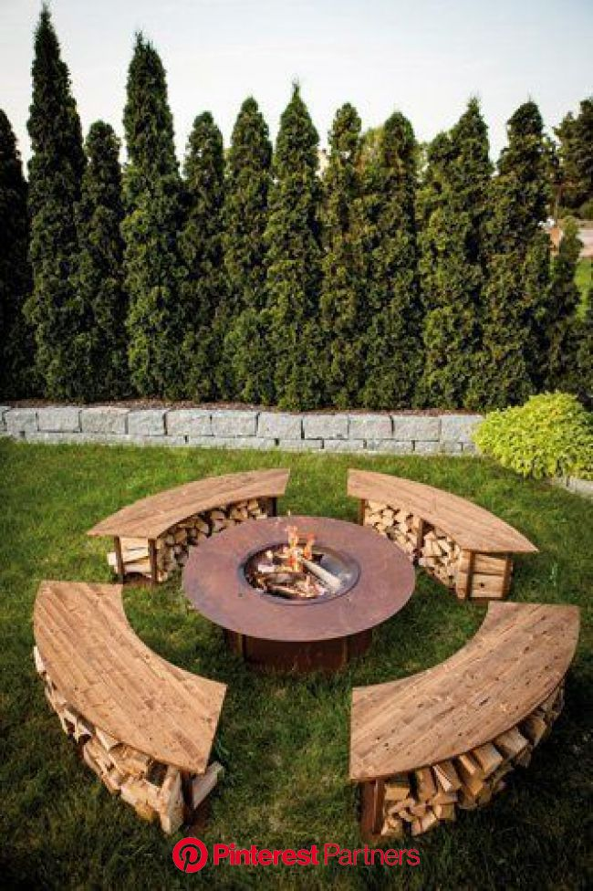 """Fireplace Benches Awesome Fireplace Outdoor Model """"circle"""" Set with Grill"""