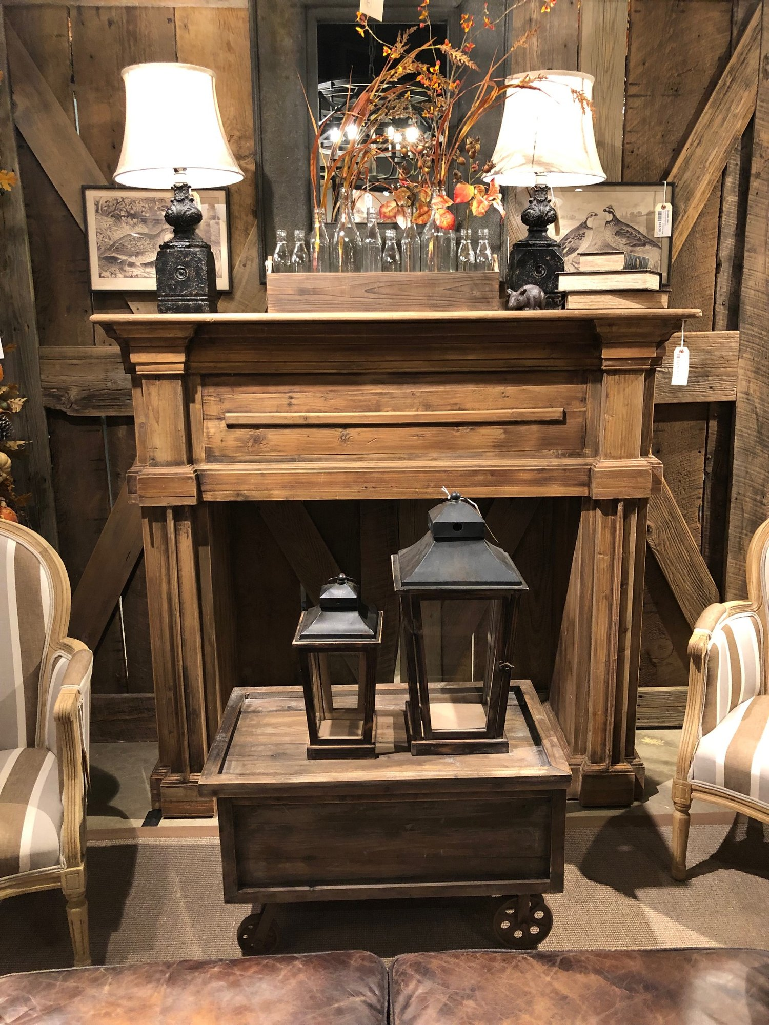 Fireplace Benches Elegant Plymouth Fireplace Mantel