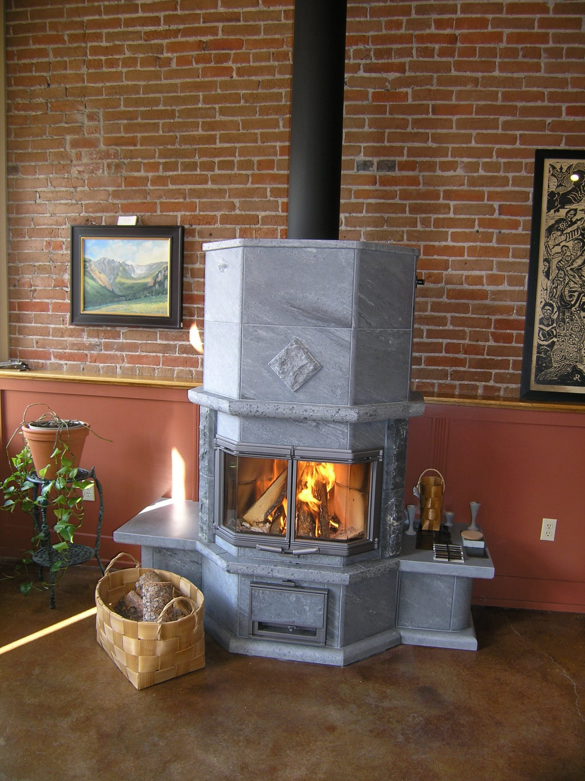 Fireplace Benches Elegant Warmstone Fireplaces & Designs