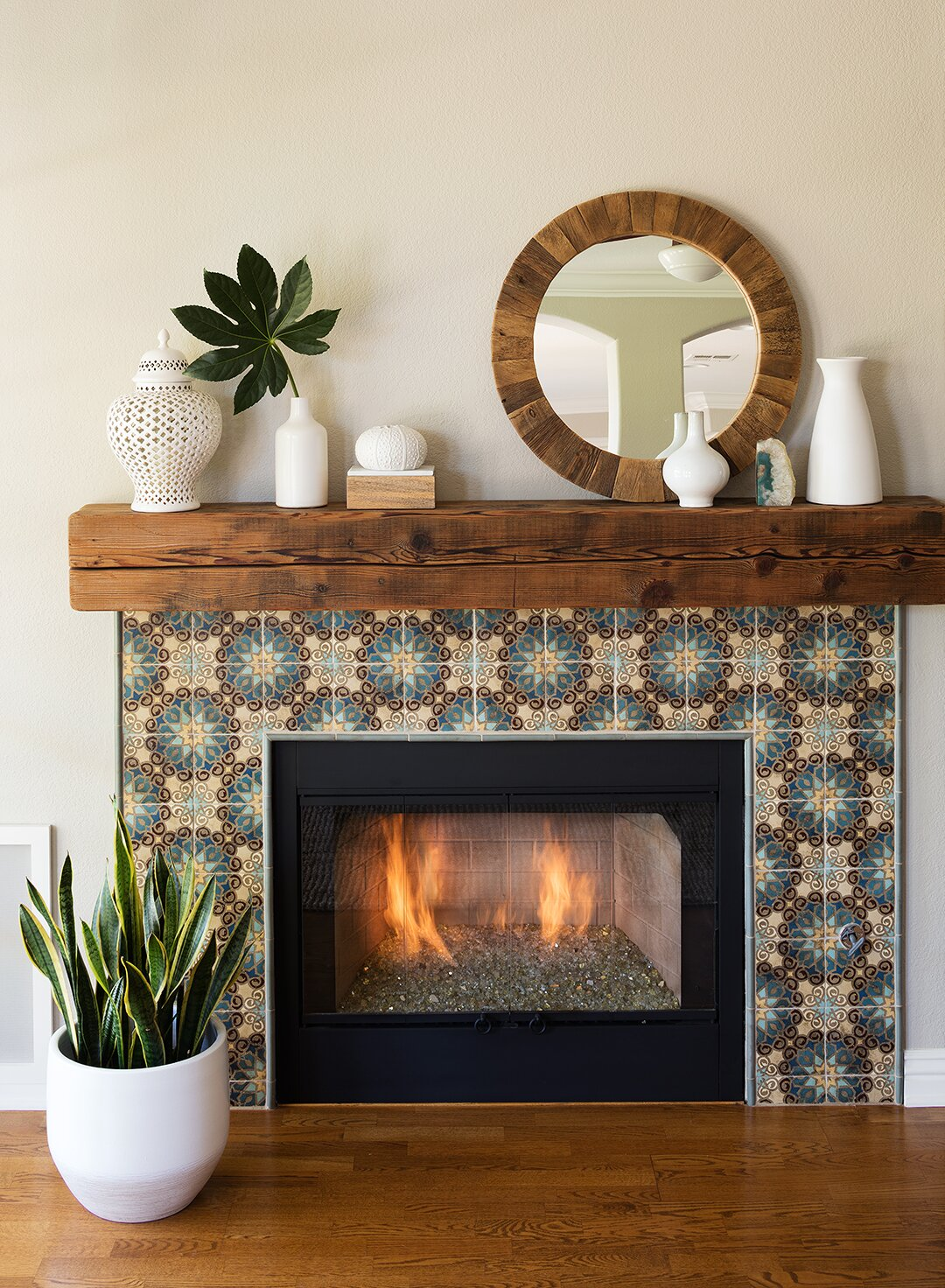 Fireplace Benches Fresh before and after Fireplace Makeovers