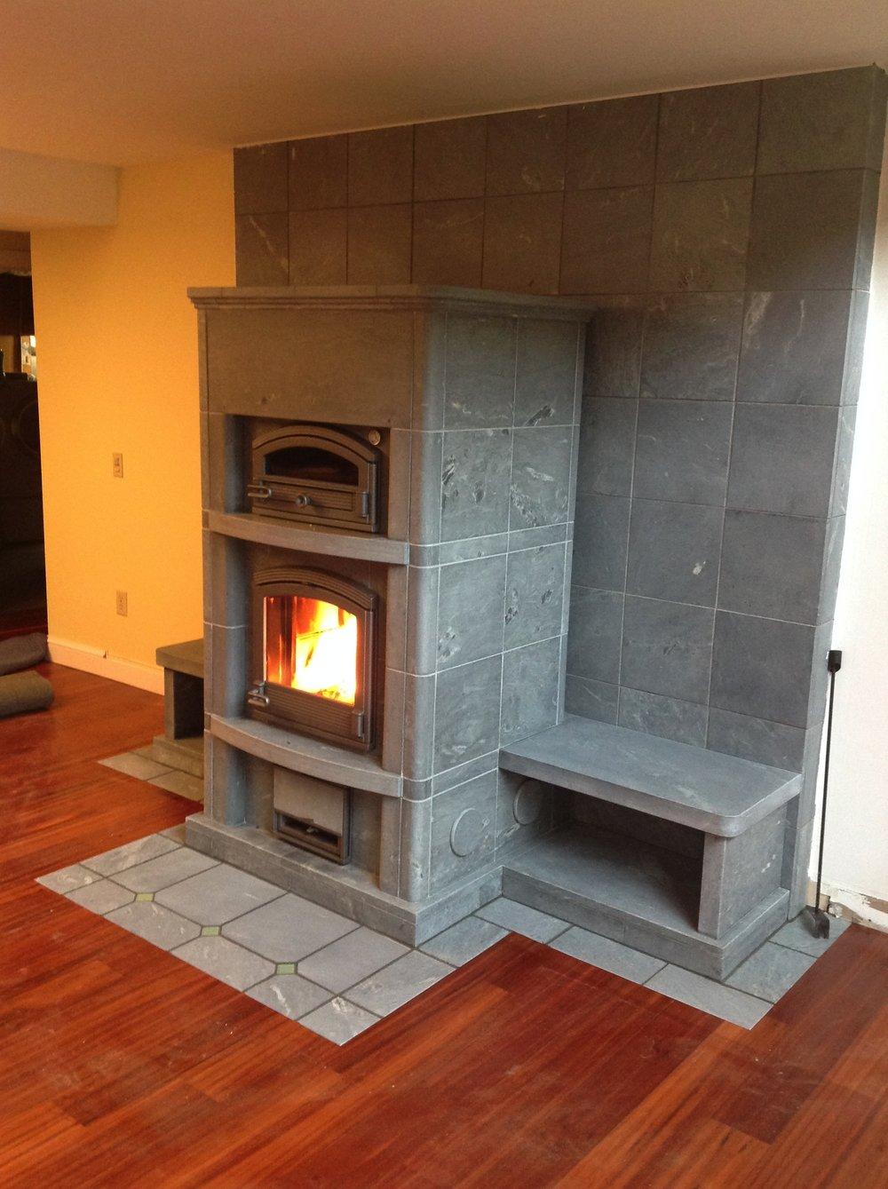 Fireplace Benches Fresh Tulikivi — Mountain Flame