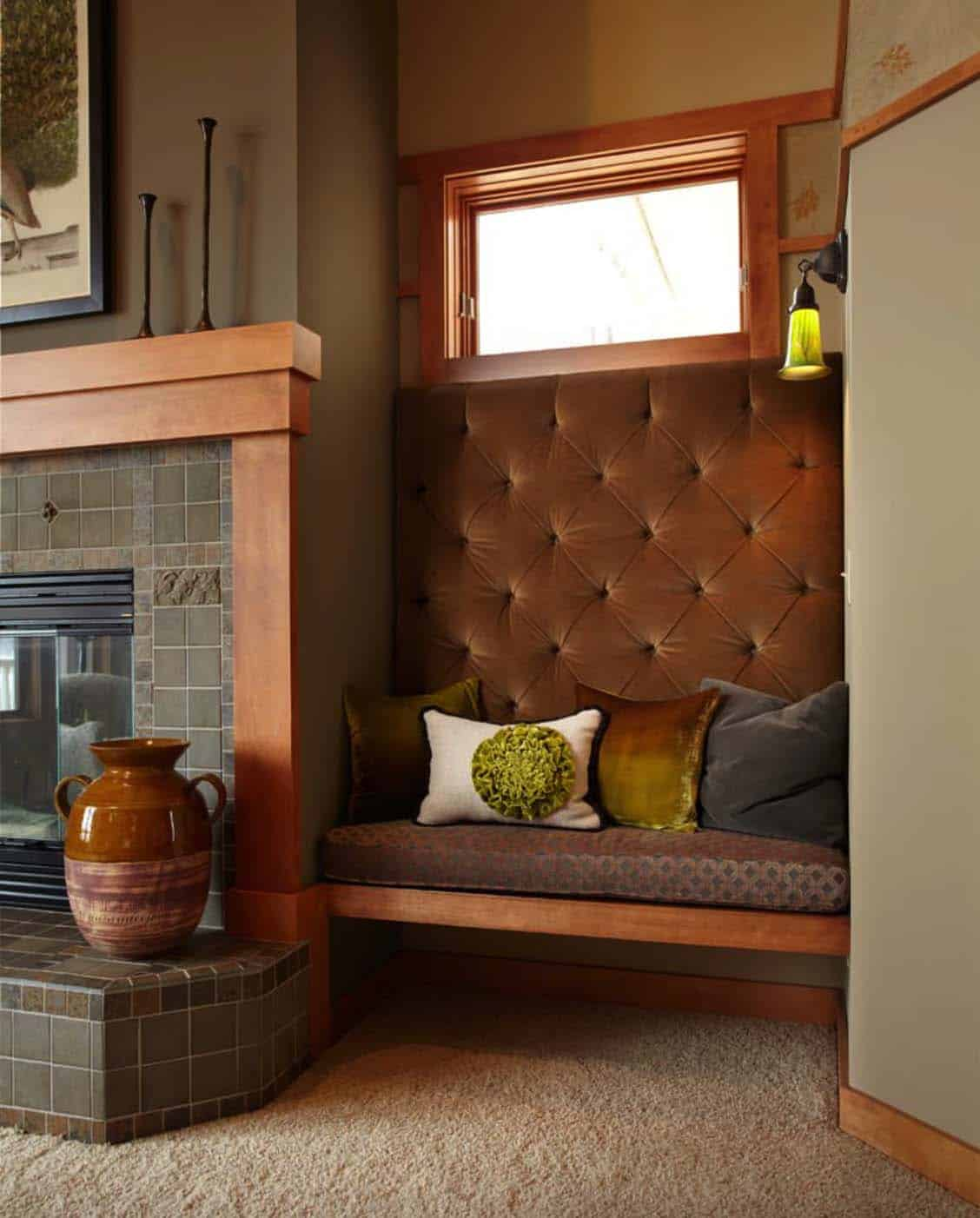 Fireplace Benches New 28 Extremely Cozy Fireplace Reading Nooks for Curling Up In